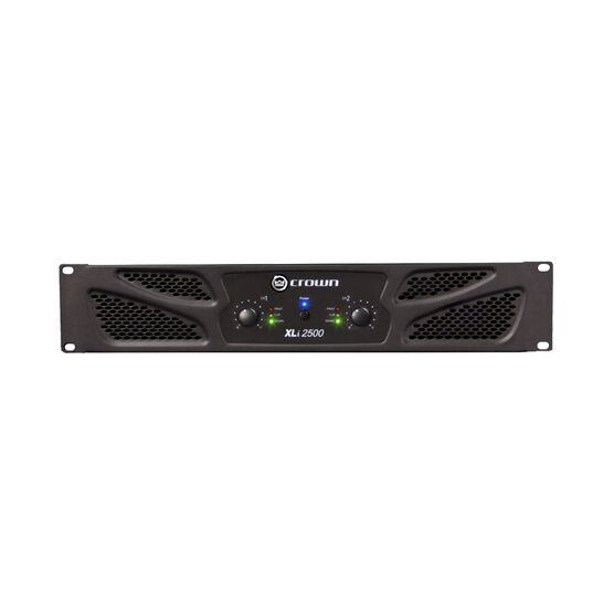 XLi 2500 - Grey - Two-channel, 750W @ 4Ω power amplifier - Hero