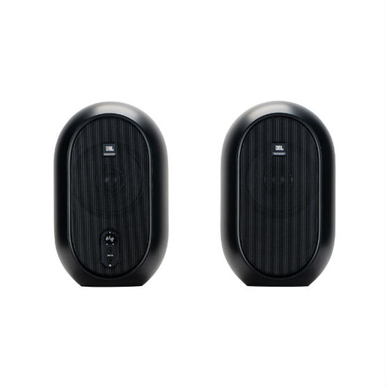 JBL One Series 104 (Pair) - Black - Compact Powered Desktop Reference Monitors - Detailshot 15