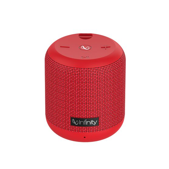 INFINITY FUZE 100 - Red - Portable Wireless Speaker - Front
