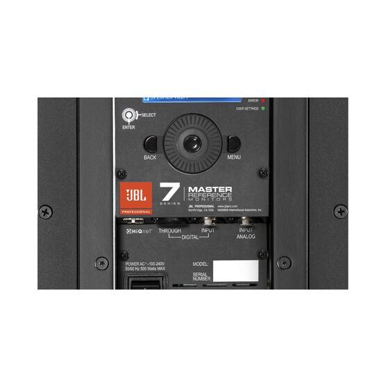 "JBL 705P - Black - 5"" Bi-Amplified Master Reference Monitor - Detailshot 2"