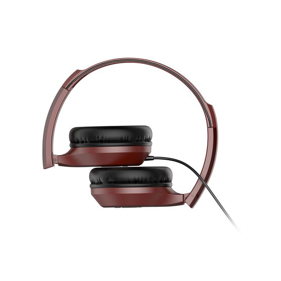 INFINITY ZIP 500 - Red - On-Ear Wired Headphones - Back