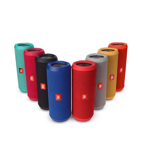 JBL Flip 3 - Red - Splashproof portable Bluetooth speaker with powerful sound and speakerphone technology - Detailshot 5