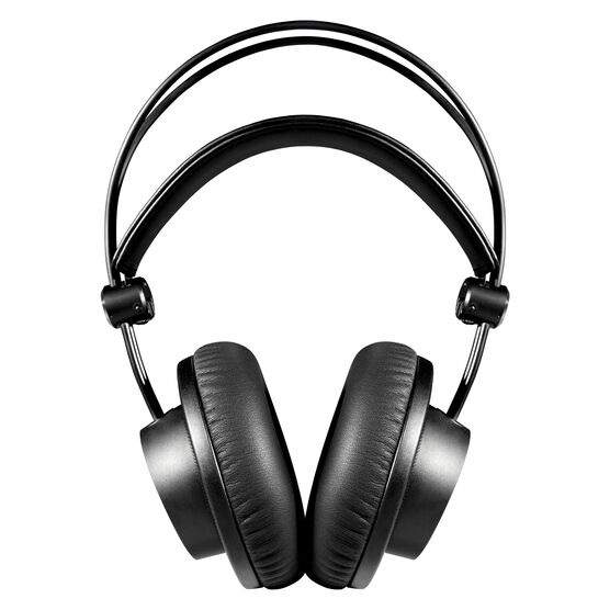 K275 - Black - Over-ear, closed-back, foldable studio headphones - Front