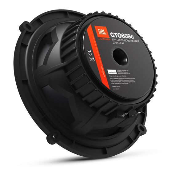 "GTO609C - Black - 270-Watt, 6-1/2"" Two-Way Component System - Detailshot 1"