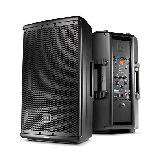 "JBL EON612 - Black - 12"" Two-Way Multipurpose Self-Powered Sound Reinforcement - Hero"