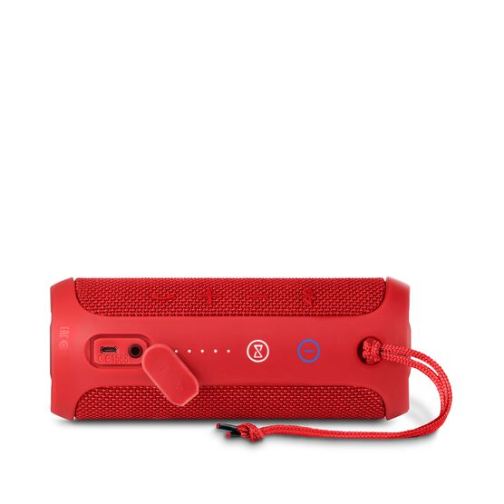 JBL Flip 3 - Red - Splashproof portable Bluetooth speaker with powerful sound and speakerphone technology - Detailshot 3