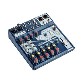 Notepad-8FX - Dark Blue - Small-format analog mixing console with USB I/O and Lexicon effects - Hero