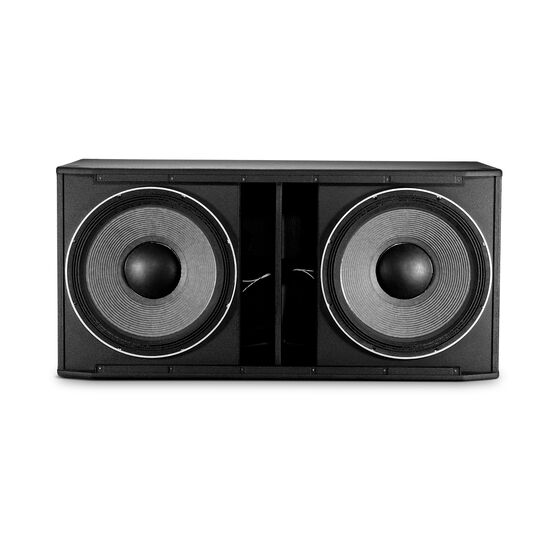 "JBL SRX828SP - Black - 18"" Dual Self-Powered Subwoofer System - Detailshot 2"