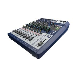 Signature 10 - Dark Blue - 10-input small format analogue mixer with onboard effects - Hero
