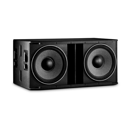 "JBL SRX828SP - Black - 18"" Dual Self-Powered Subwoofer System - Detailshot 1"