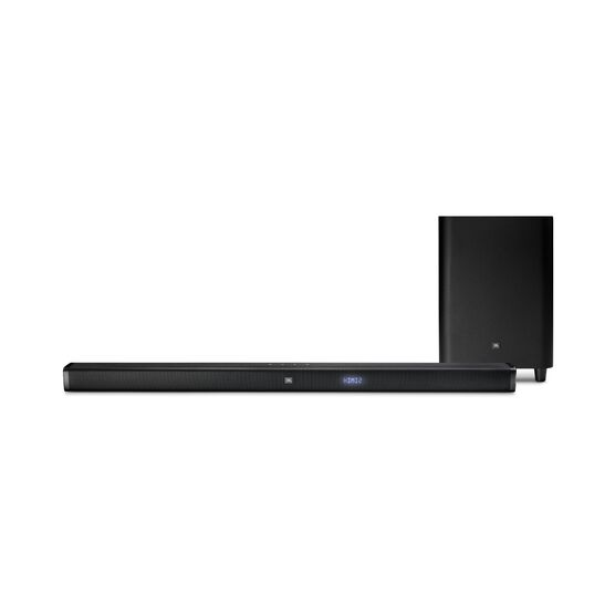 JBL Bar 3.1 - Black - 3.1-Channel 4K Ultra HD Soundbar with Wireless Subwoofer - Front