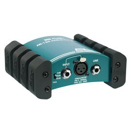 BSS AR-133 Active DI Box - Green - Rugged construction and clear tone. - Hero