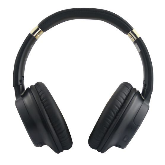 Glide 4000 - Black - The  Glide 4000 Over ear Wireless headphones prepare to be completely immersed in your favourite music 50 Hours of Playtime and 4 EQ modes, tailor-made to match your moods.  - Hero