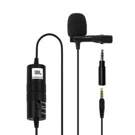 JBLCSLM20B - Black - Battery-Powered Lavalier Microphone - Hero
