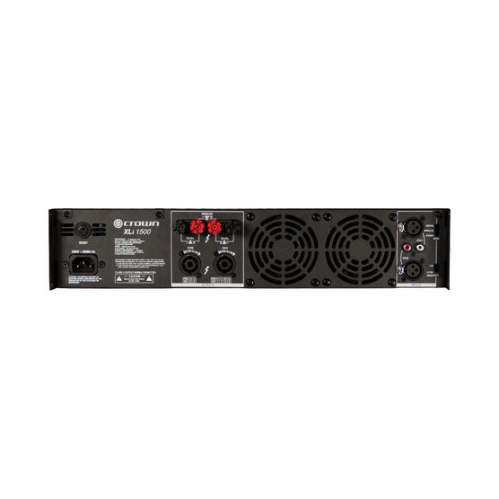 XLi 1500 - Grey - Two-channel, 450W @ 4Ω power amplifier - Back