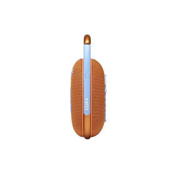 JBL CLIP 4 - Orange - Ultra-portable Waterproof Speaker - Right
