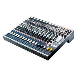 EFX12 - Dark Blue - Compact analogue 12 channel mixer with built in effects - Hero