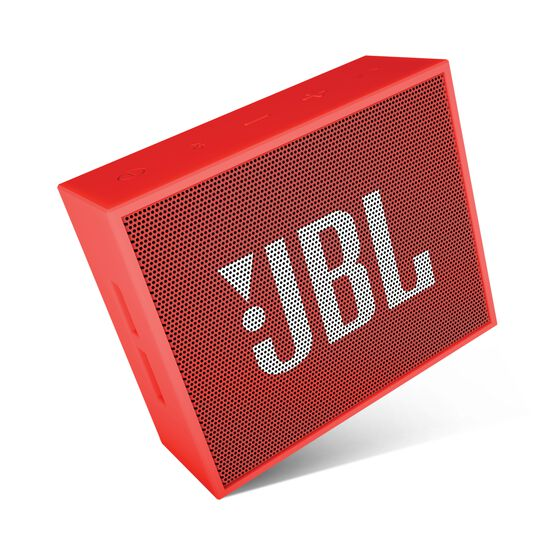 JBL GO - Red - Full-featured, great-sounding, great-value portable speaker - Detailshot 3