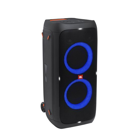 JBL Partybox 310 - Black - Portable party speaker with dazzling lights and powerful JBL Pro Sound - Hero