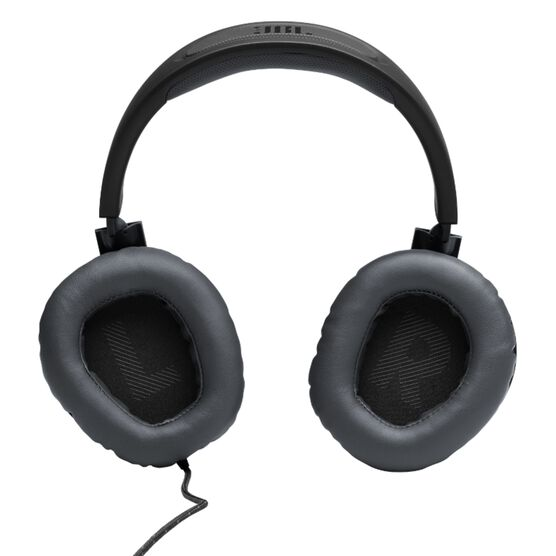 JBL Free WFH - Black - Wired over-ear headset with detachable mic - Detailshot 3