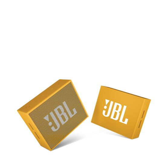 JBL GO - Yellow - Full-featured, great-sounding, great-value portable speaker - Detailshot 1
