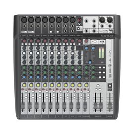 Signature 12 MTK - Black - 12-input analogue mixer with onboard effects and multi-track USB recording and playback - Hero