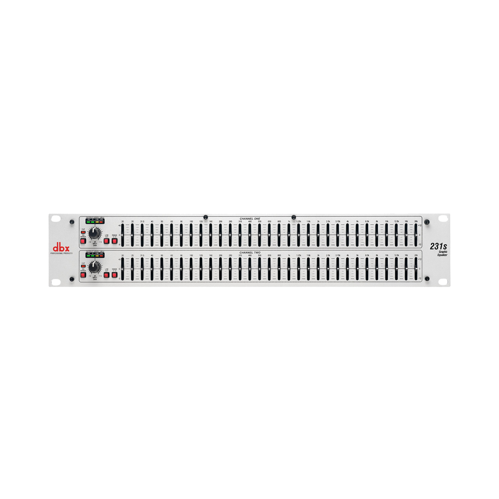 231s - White - Dual channel 31-band equalizer - Hero