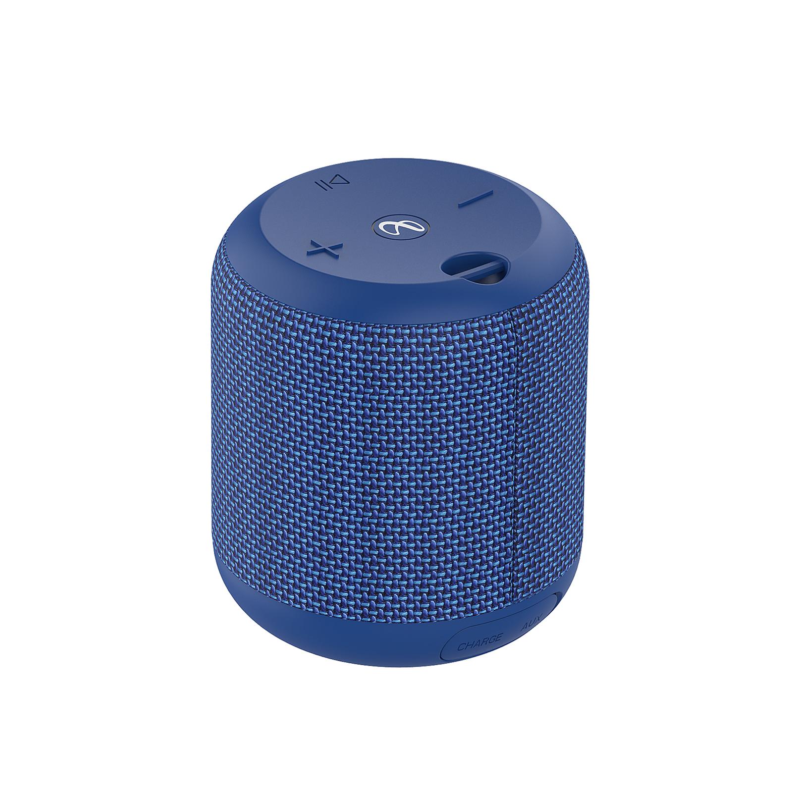 INFINITY FUZE 100 - Blue - Portable Wireless Speaker - Back