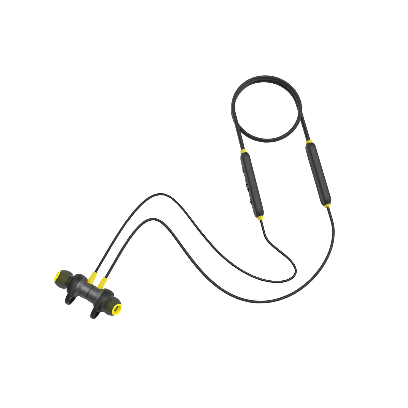 INFINITY GLIDE 120 - Black / Yellow - Front