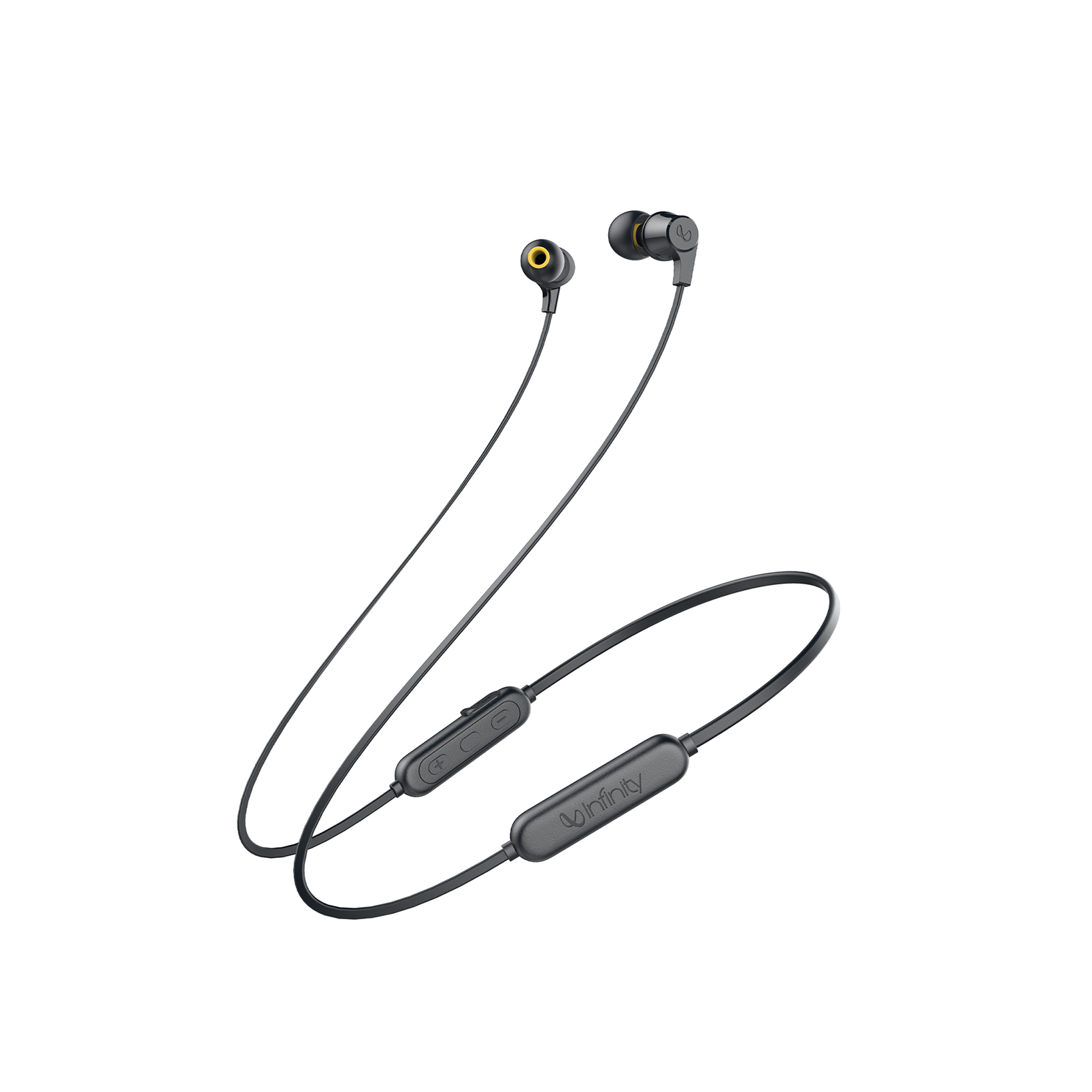 INFINITY GLIDE 105 - Black - In-Ear Wireless Headphones - Hero