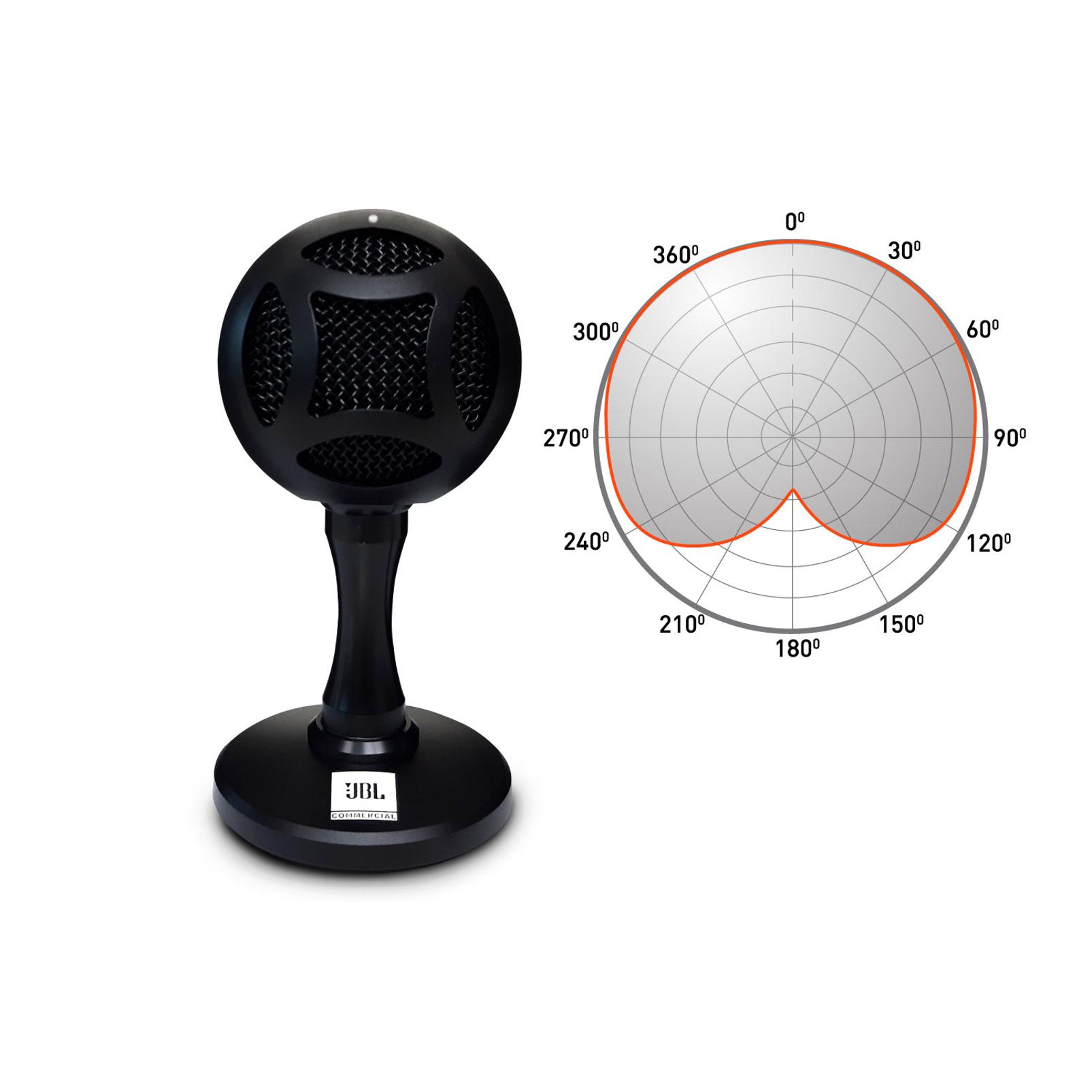 WFH100 - Black - USB powered speakers and Mini USB Microphone Bundle - Detailshot 4