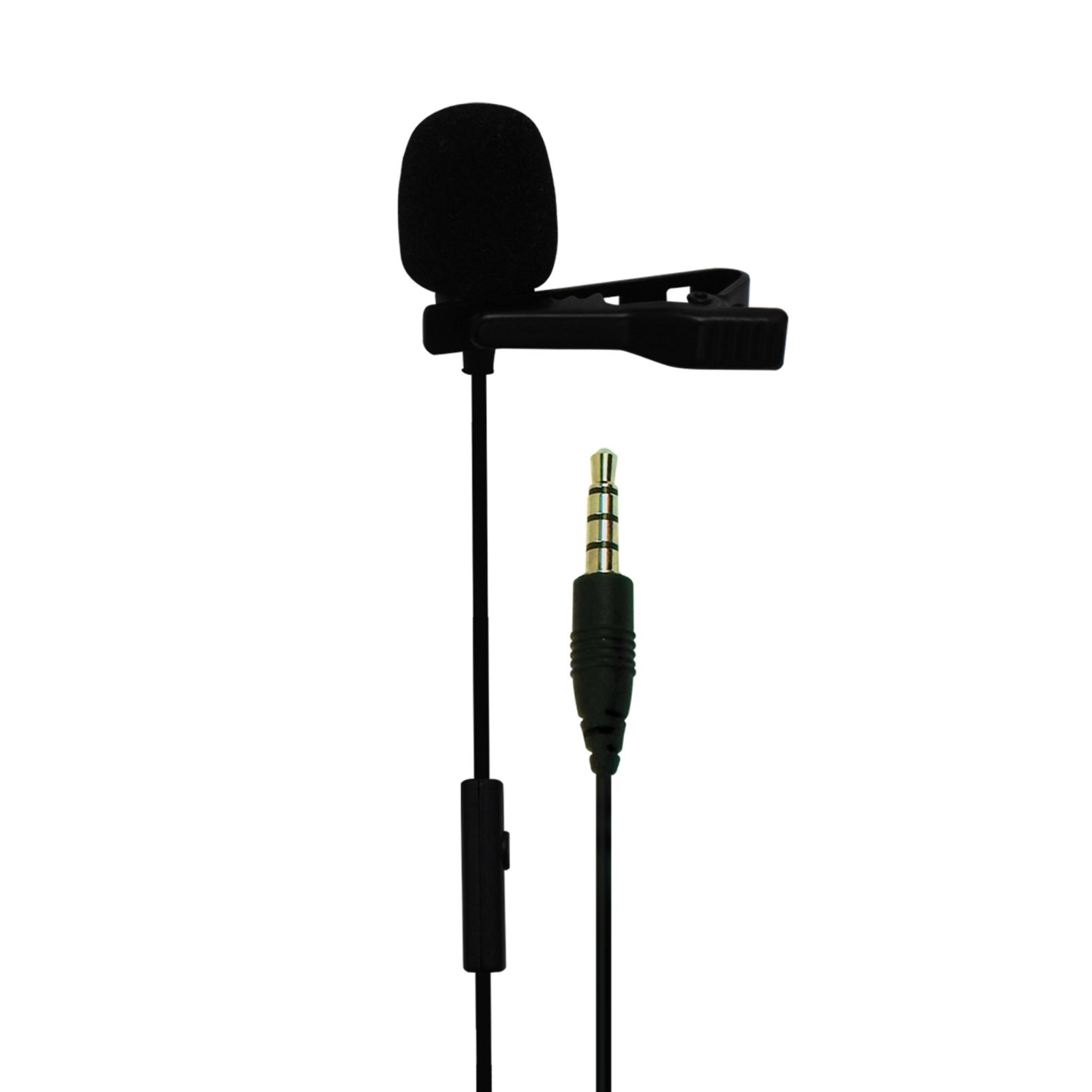 CSLM30 - Black - Clip-on Omnidirectional Lavalier Microphone - Detailshot 1