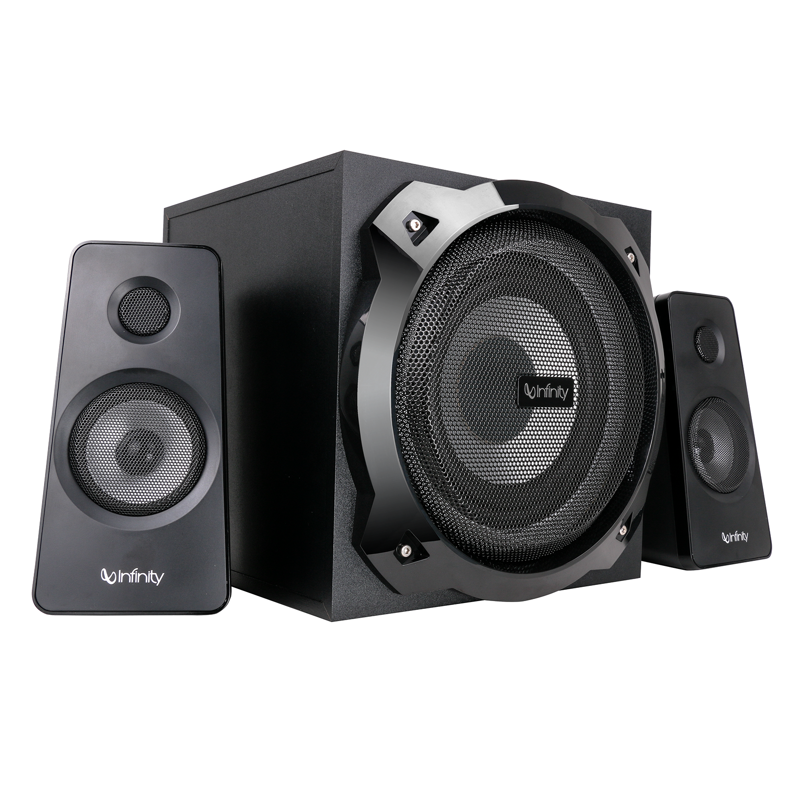 INFINITY HARDROCK 210 - Black - Multimedia Speakers - Front