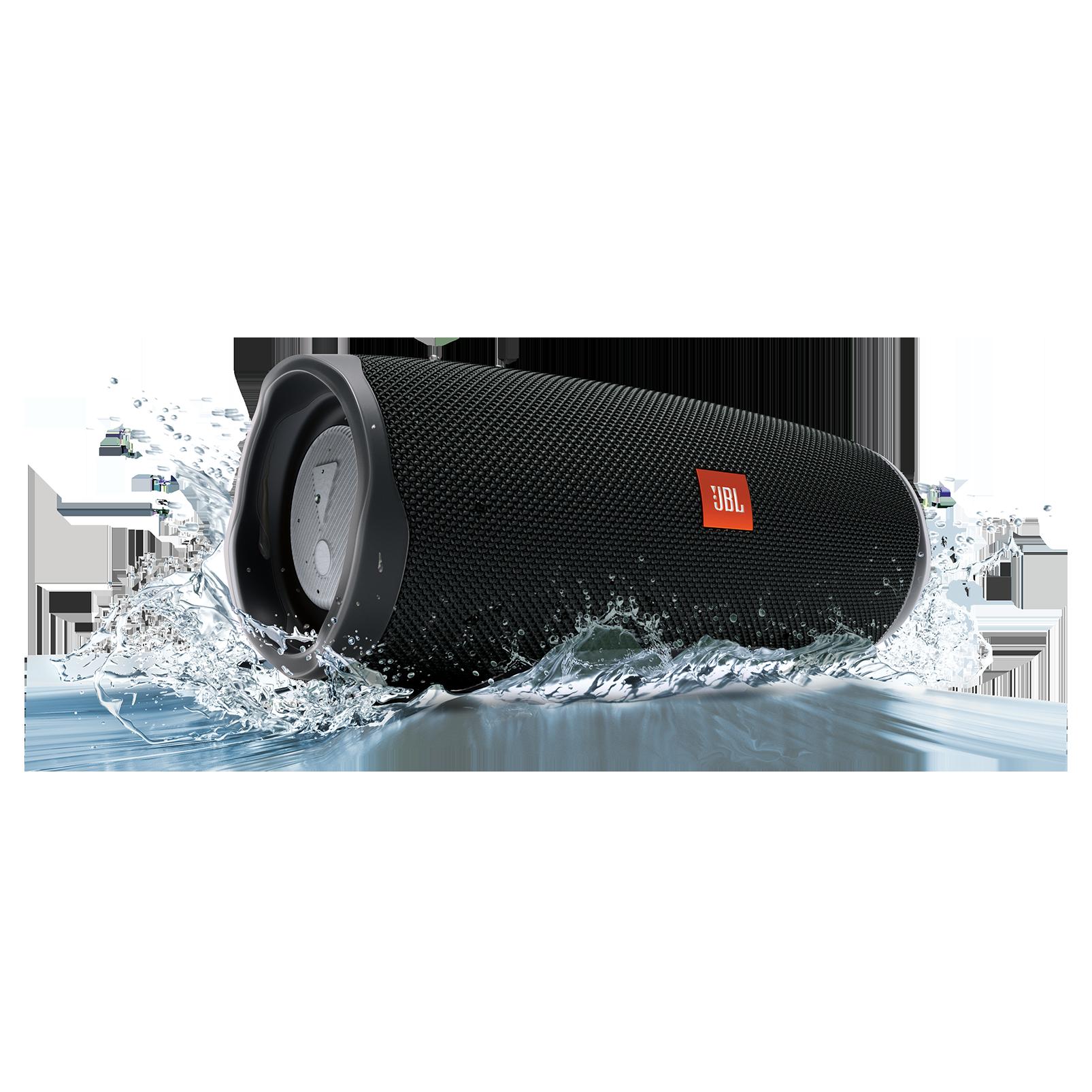 JBL Charge 4 - Black - Portable Bluetooth speaker - Detailshot 5