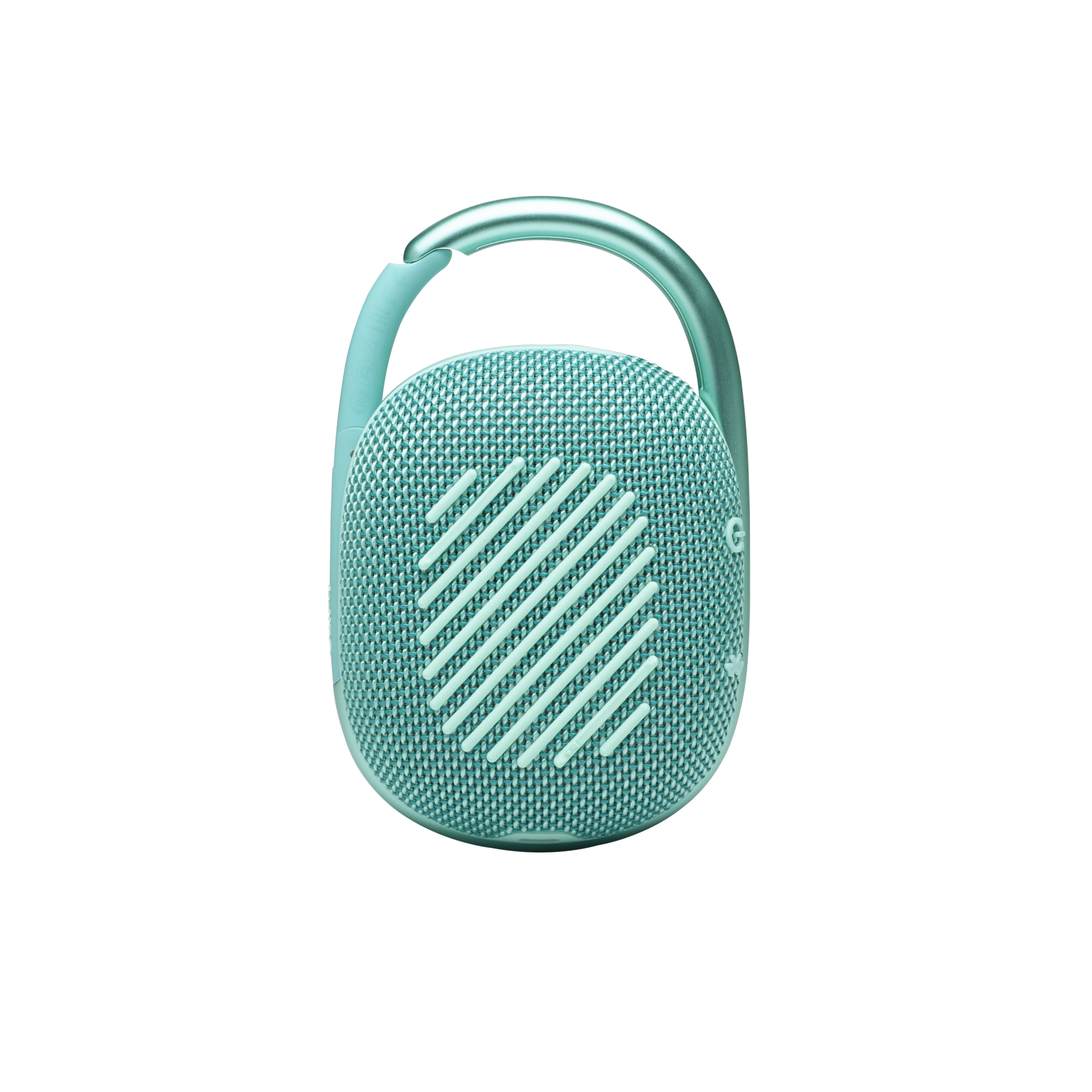 JBL CLIP 4 - Teal - Ultra-portable Waterproof Speaker - Back