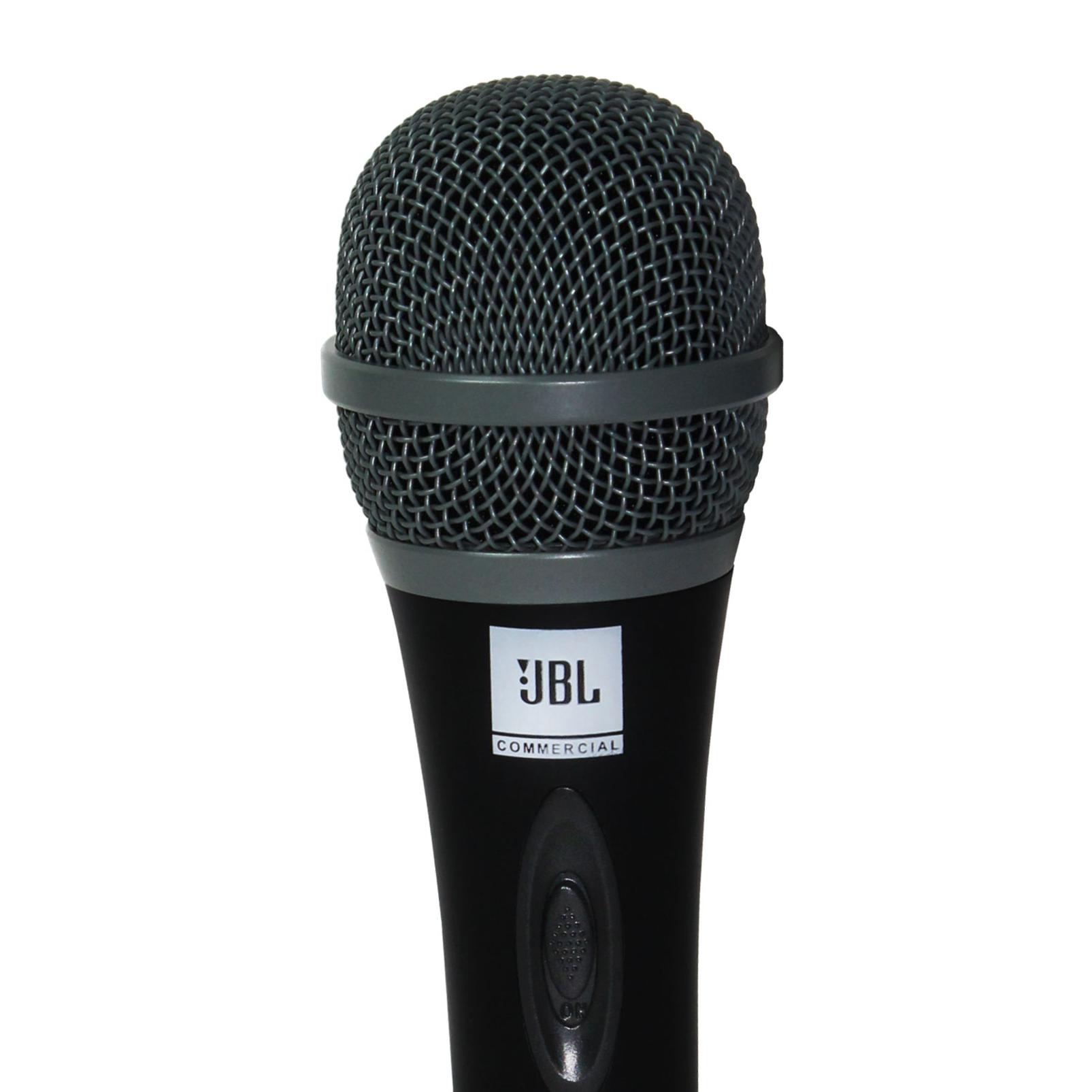 JBLCSHM10 - Black - Handheld Dynamic Vocal Microphone - Detailshot 1
