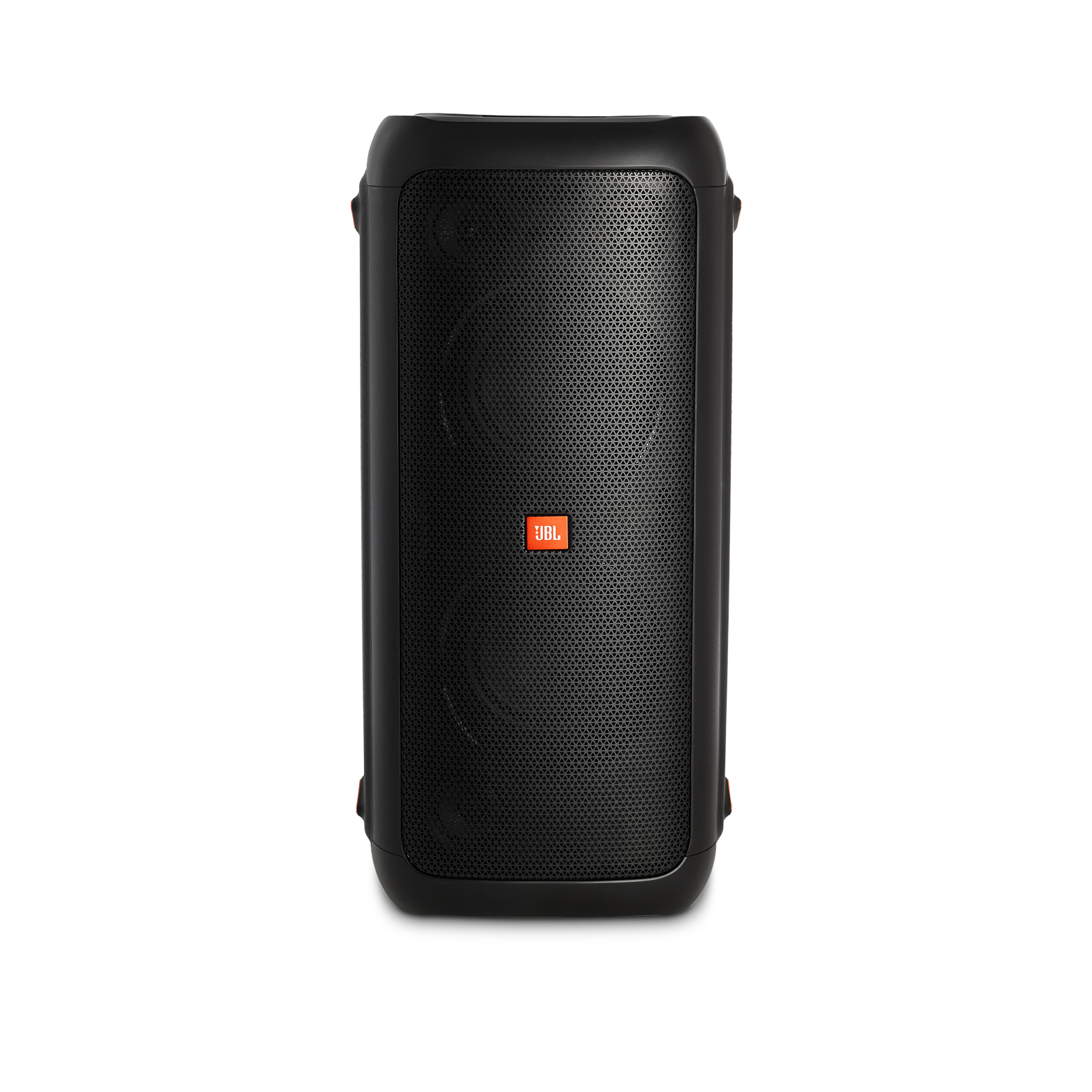 JBL PartyBox 200 - Black - Portable Bluetooth party speaker with light effects - Front