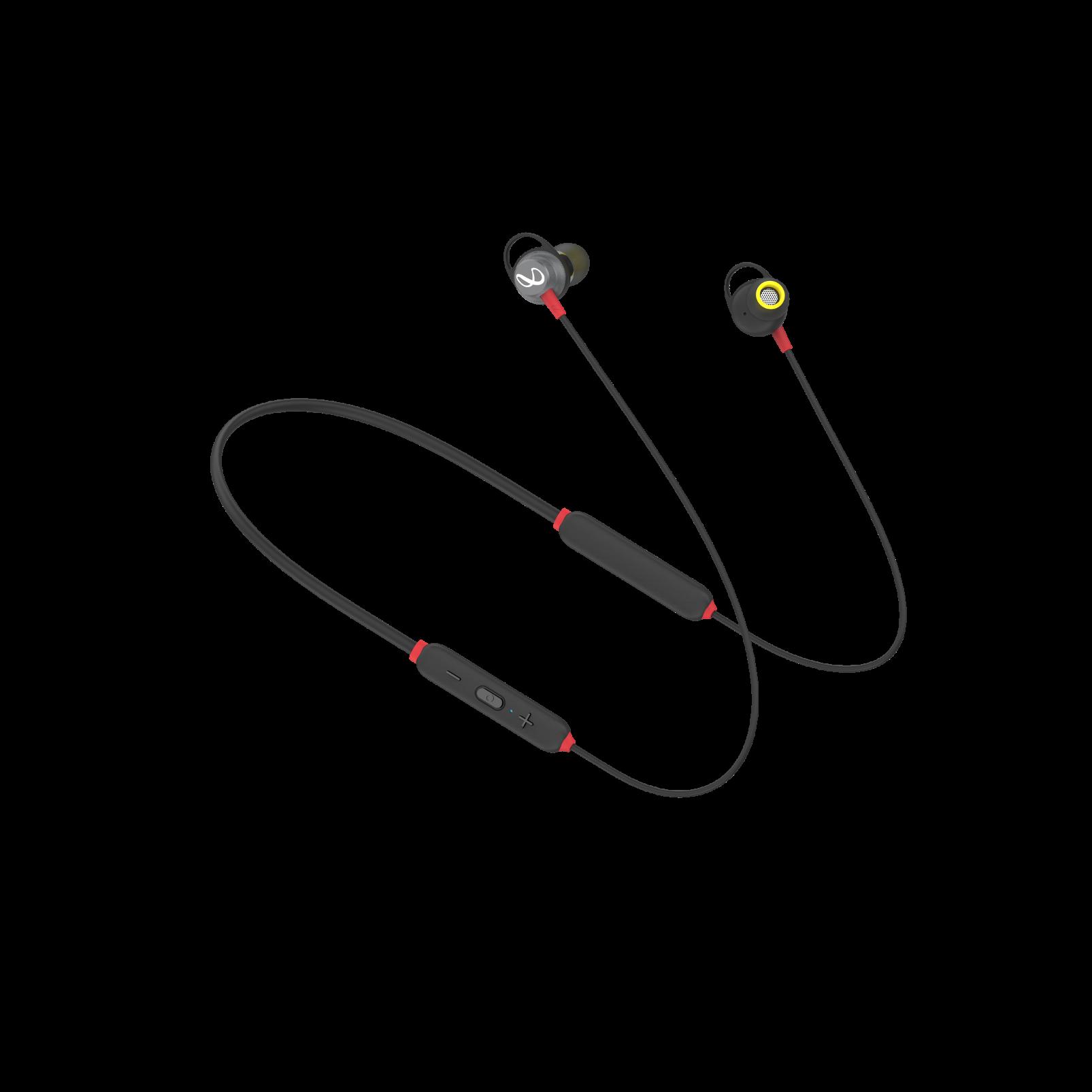 INFINITY GLIDE 120 - Black / Red - Left