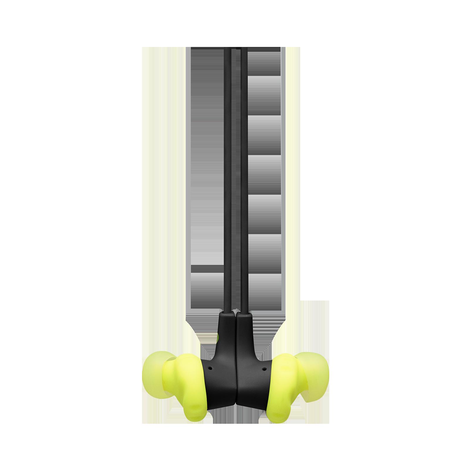 JBL Endurance RUNBT - Green - Sweatproof Wireless In-Ear Sport Headphones - Detailshot 3