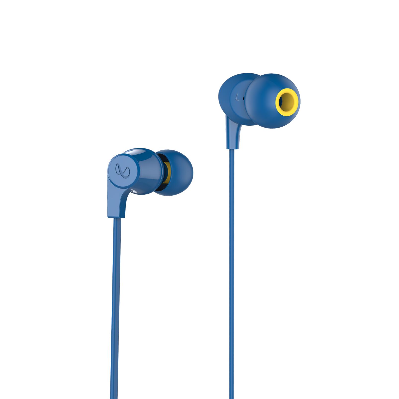 INFINITY GLIDE 105 - Blue - In-Ear Wireless Headphones - Front