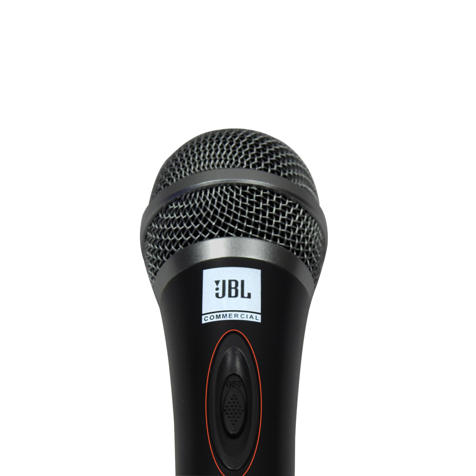 JBLCSHM10 - Black - Handheld Dynamic Vocal Microphone - Detailshot 3