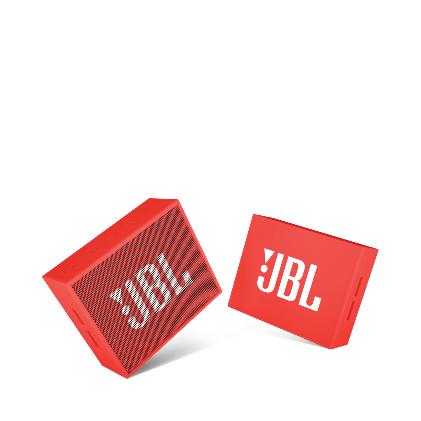 JBL GO - Red - Full-featured, great-sounding, great-value portable speaker - Detailshot 1