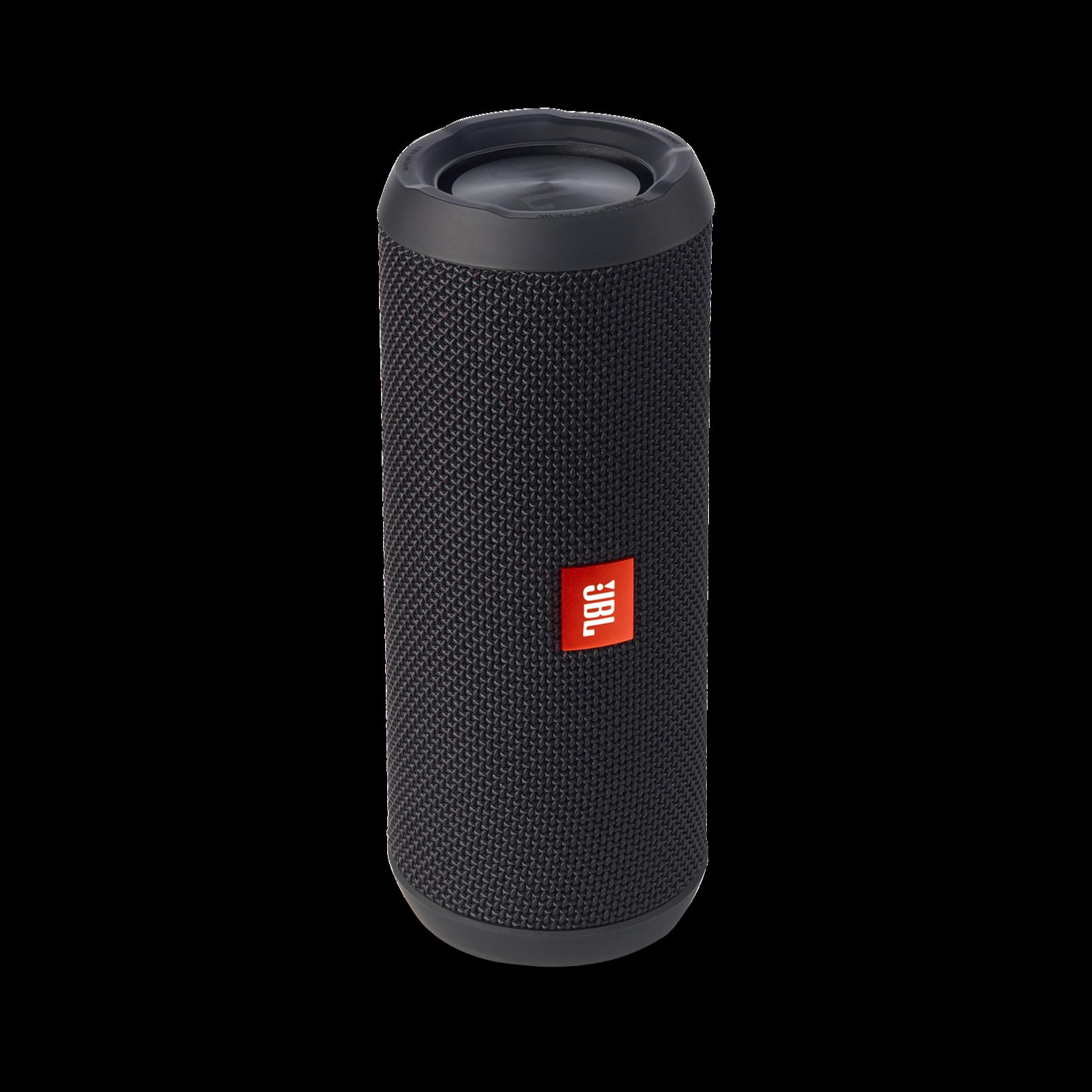 JBL Flip 3 - Black - Splashproof portable Bluetooth speaker with powerful sound and speakerphone technology - Detailshot 2