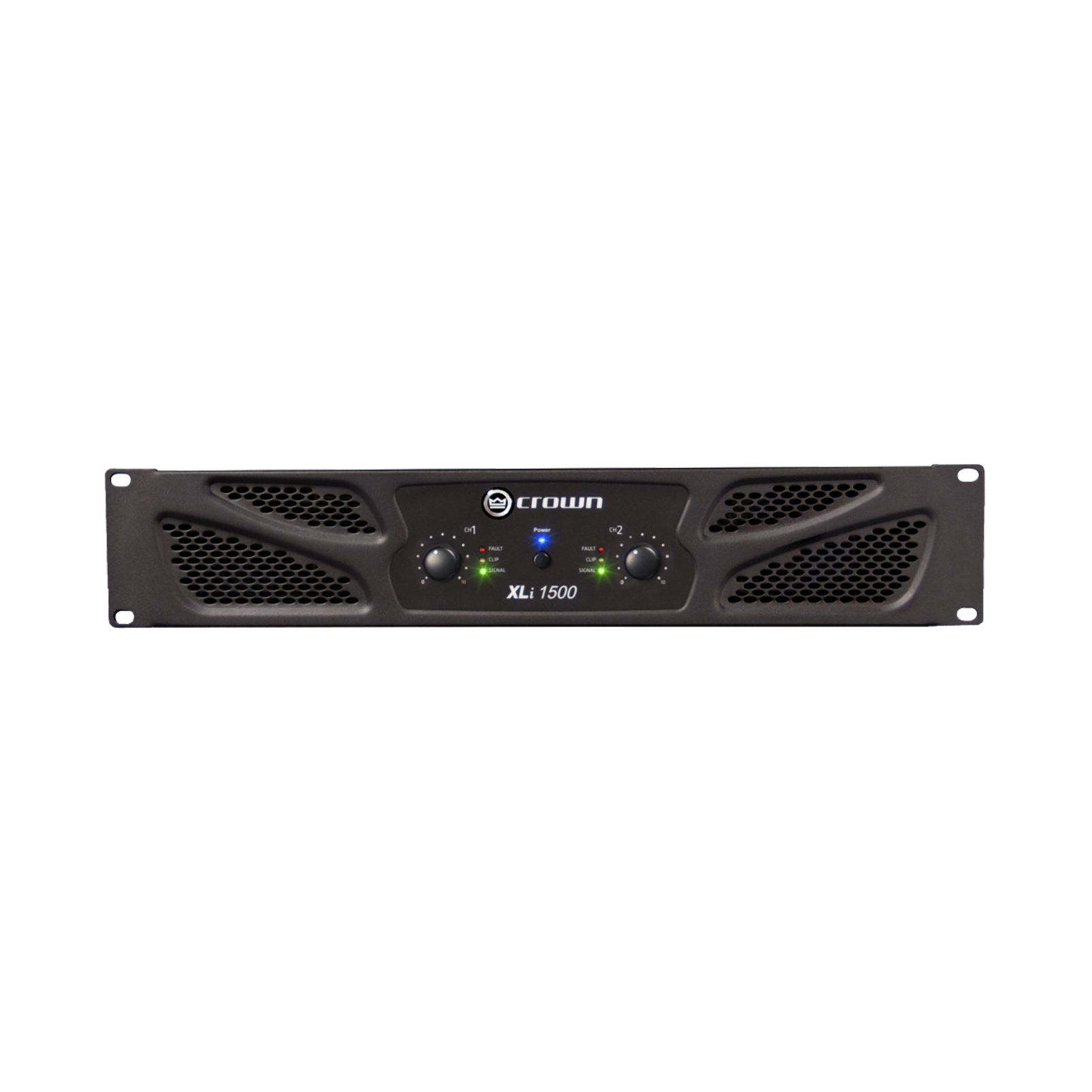 XLi 1500 - Grey - Two-channel, 450W @ 4Ω power amplifier - Hero