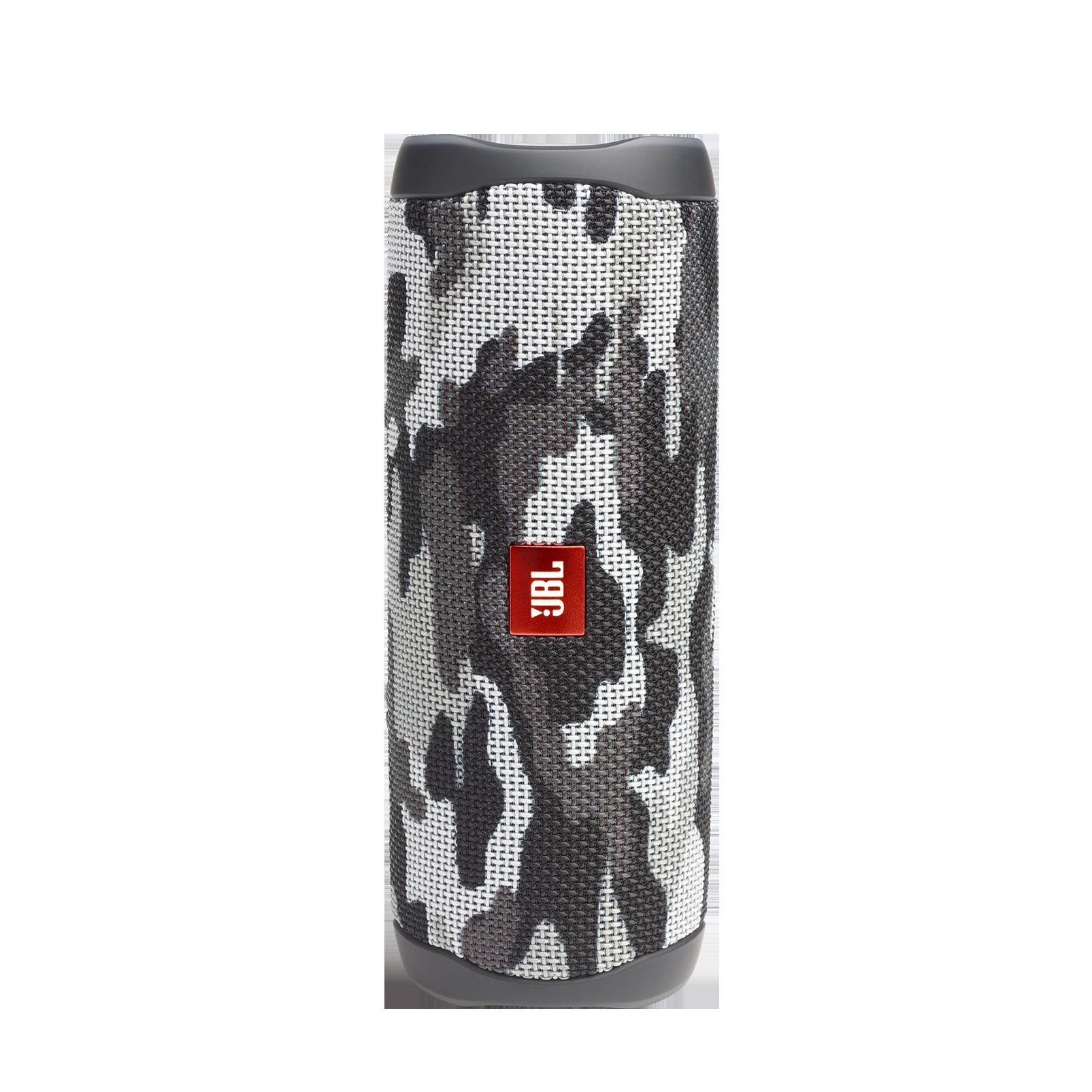 JBL FLIP 5 - Black Camo - Portable Waterproof Speaker - Hero