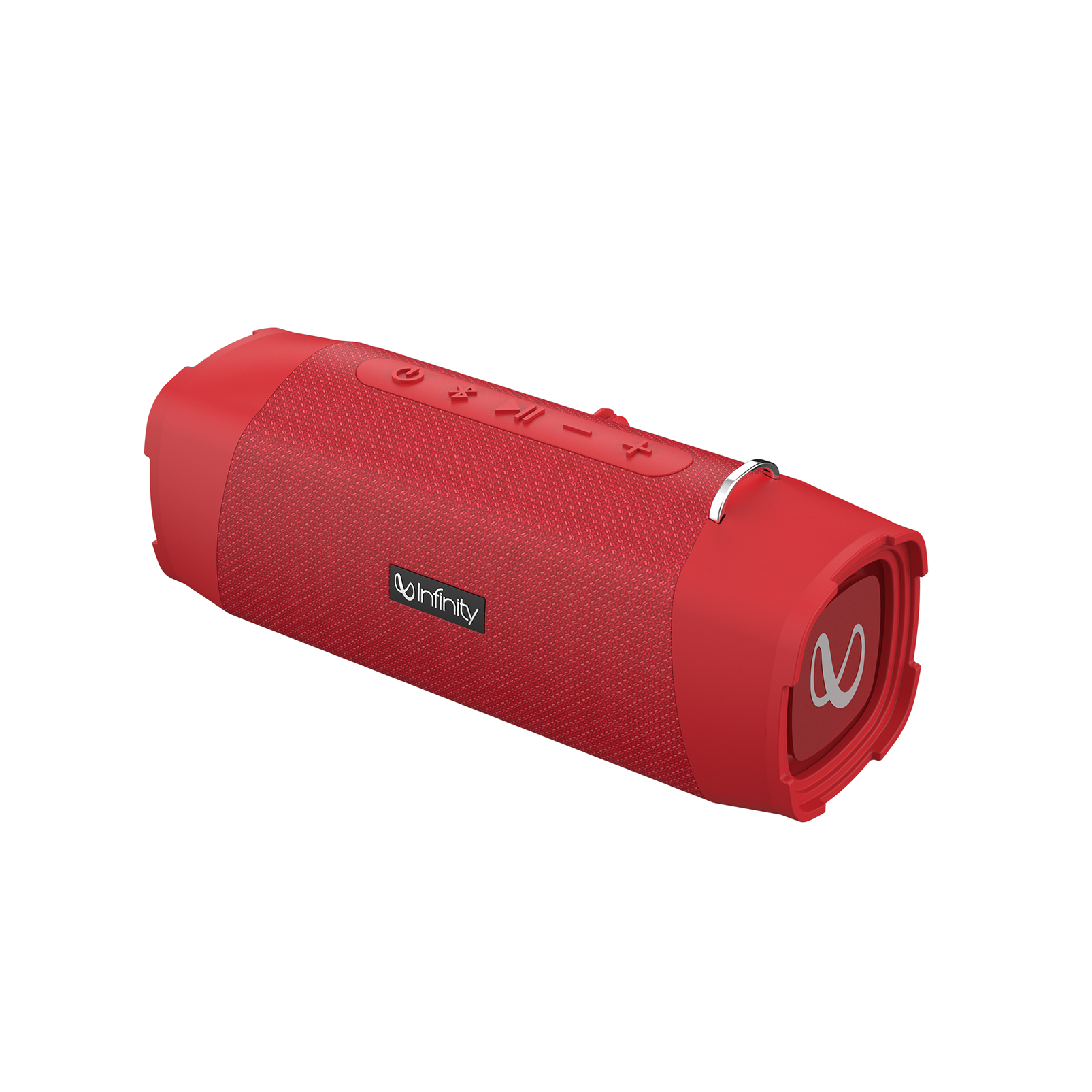 INFINITY FUZE 700 - Red - Portable Wireless Speakers - Front