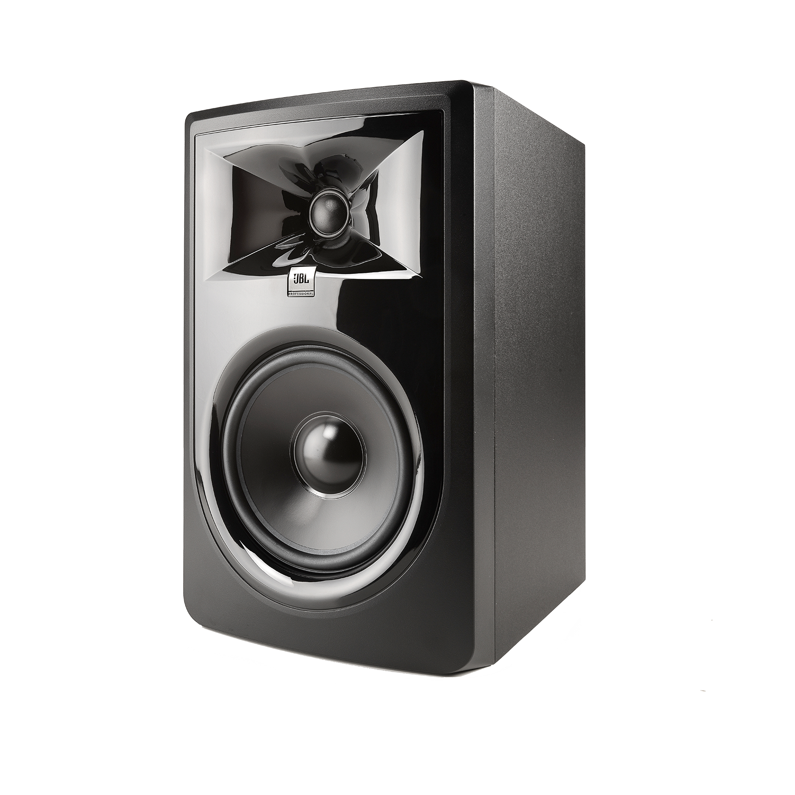 "JBL 306P MkII - Black - Powered 6"" Two-Way Studio Monitor - Hero"