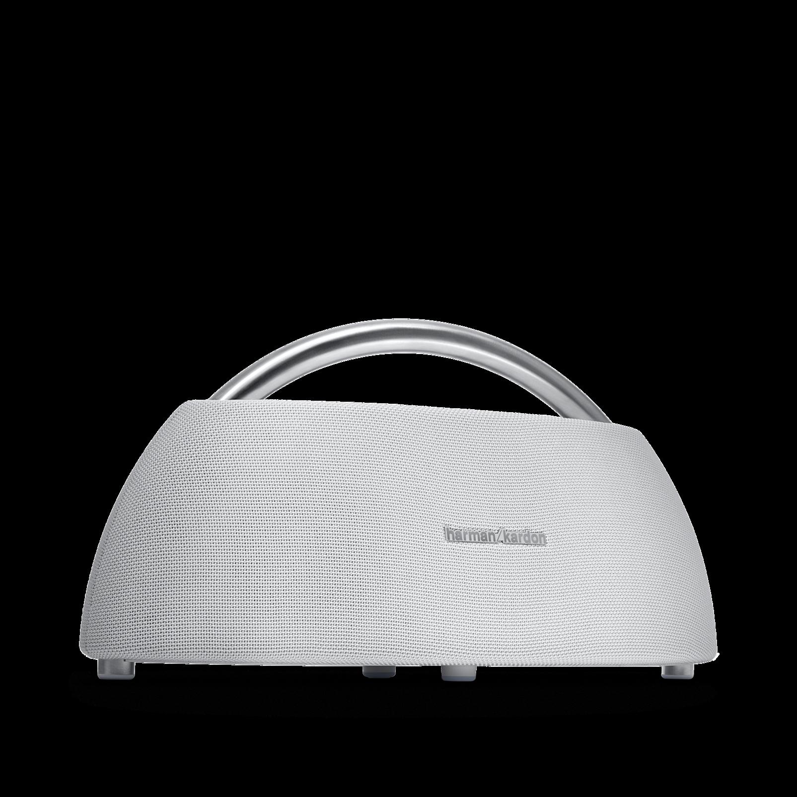 Go + Play - White - Portable Bluetooth Speaker - Hero