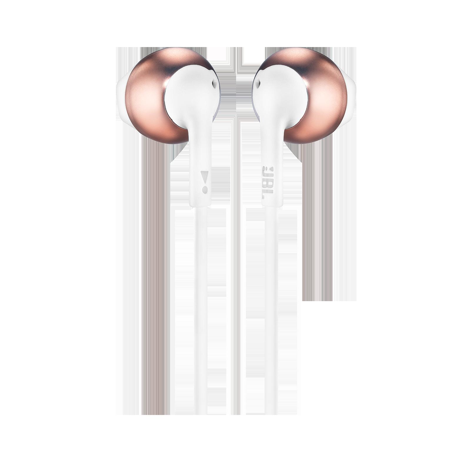 JBL TUNE 205BT - Rose Gold - Wireless Earbud headphones - Back