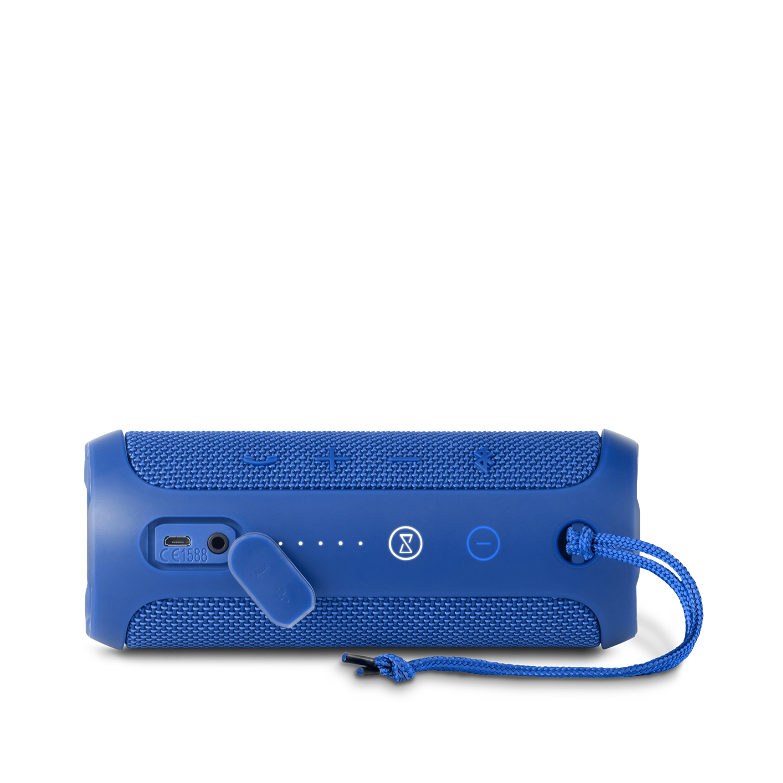 JBL Flip 3 - Blue - Splashproof portable Bluetooth speaker with powerful sound and speakerphone technology - Detailshot 3